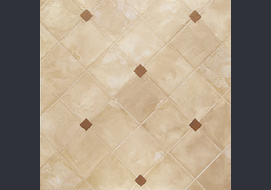 A multi-layer sample of faux tile w. RS Crete.