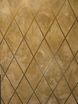 Plaster Faux Finish faux finish samples - venetian plaster diamond pattern